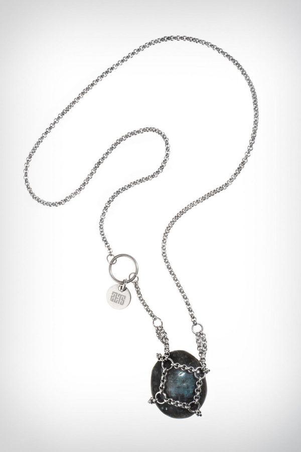 Zets Jewelry Steelity Stone Necklace